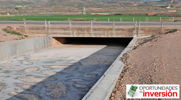 eurofinsa construye el canal de descarga de castillonroy