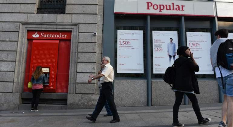 Polémica despidos Santander