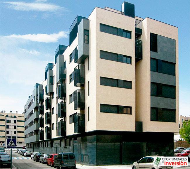 Edificios modernos en Madrid