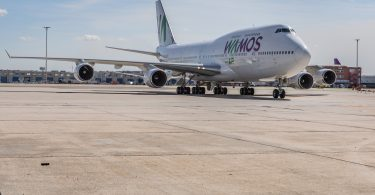 Ruta Wamos Air Cali-Madrid