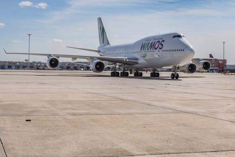 Ruta Wamos Air Cali-Madrid